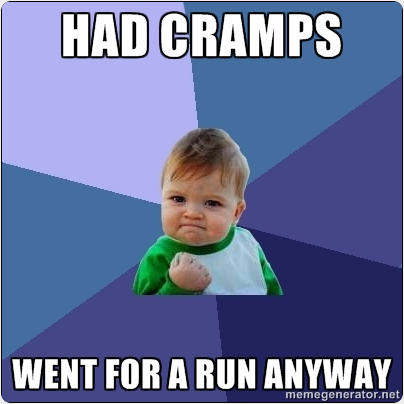 Running With Cramps