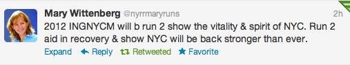 The New York City Marathon: Still On!