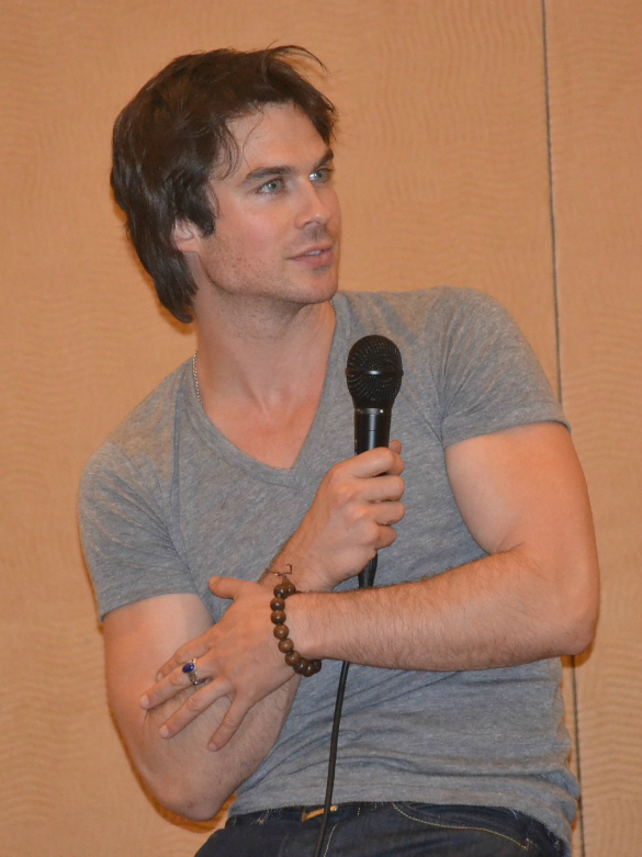 Its Ok To Skip A Long Run For Ian Somerhalder Train With Purpose