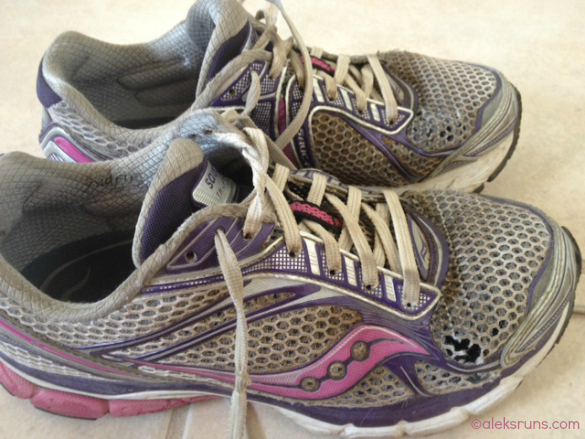 Race News. Marathon. New Shoes?