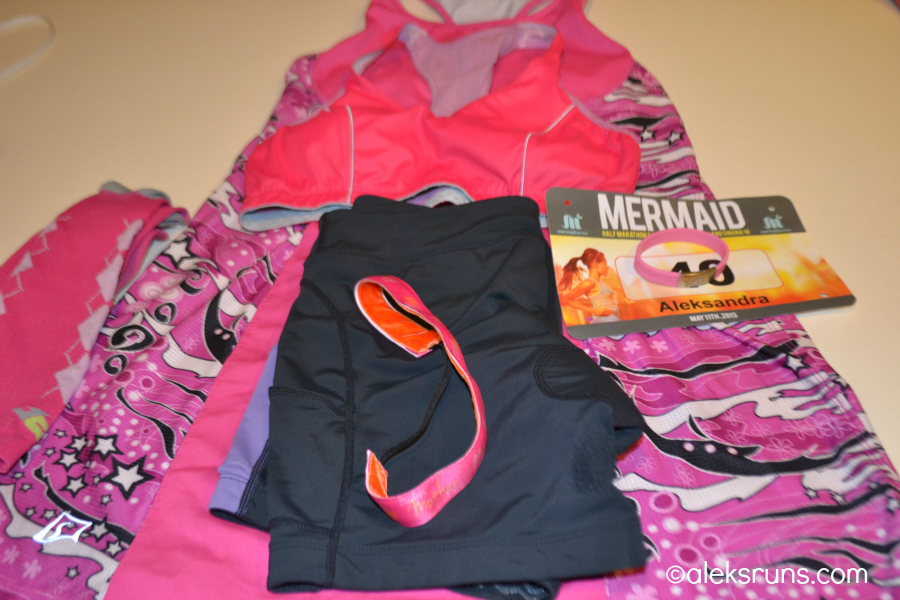A Mother Runner's Outfit for a Mother Runner's Day Race