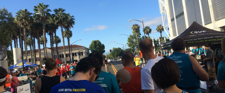 Sharks Fitness Faceoff 10K: Running fast hurts.