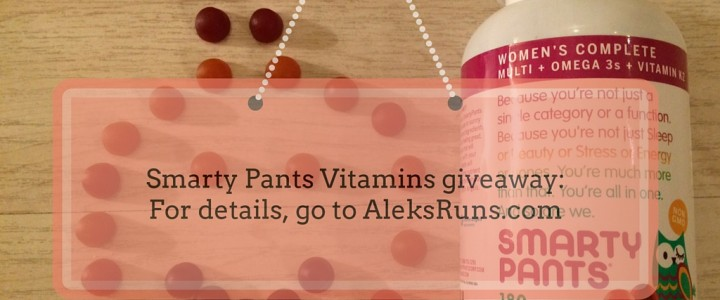 GIVEAWAY: When the Going Gets Tough, Take Your Vitamins