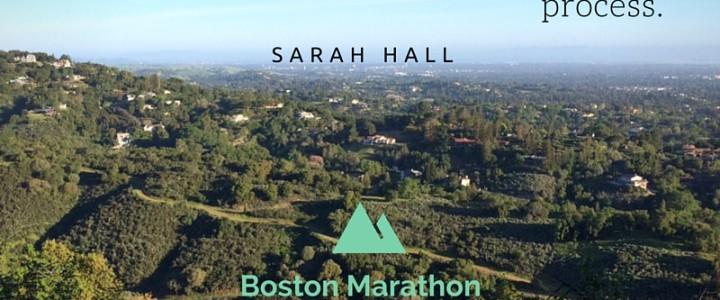 Trust the Process (Boston Marathon update, 3 weeks to go)