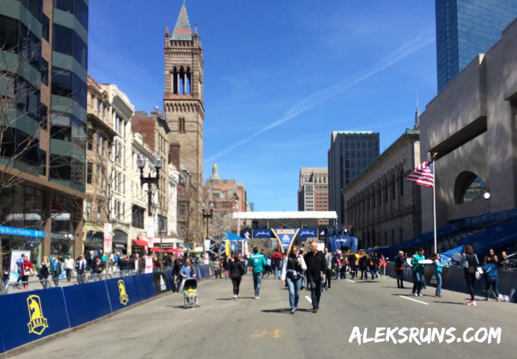BostonFinishAreaSaturday