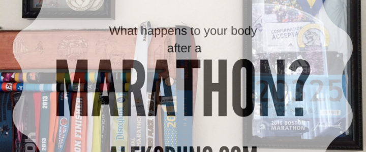 Life After Boston: What Happens to Your Body After Running a Marathon?