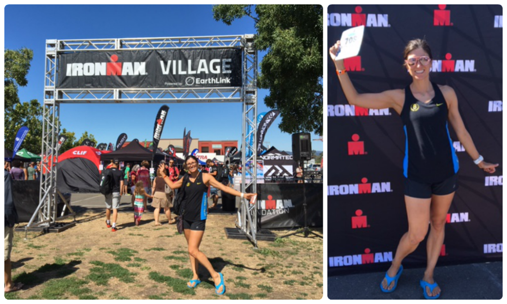 "Obligatory ""look at me, I'm going to race Ironman!"" photos."