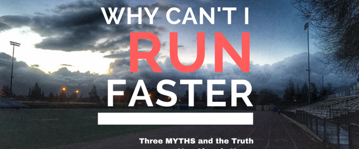 Why Can't I Run Faster?
